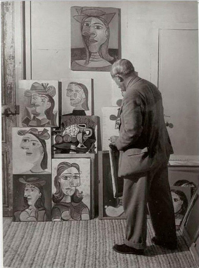 1939. Пикассо и его портреты Доры Маар