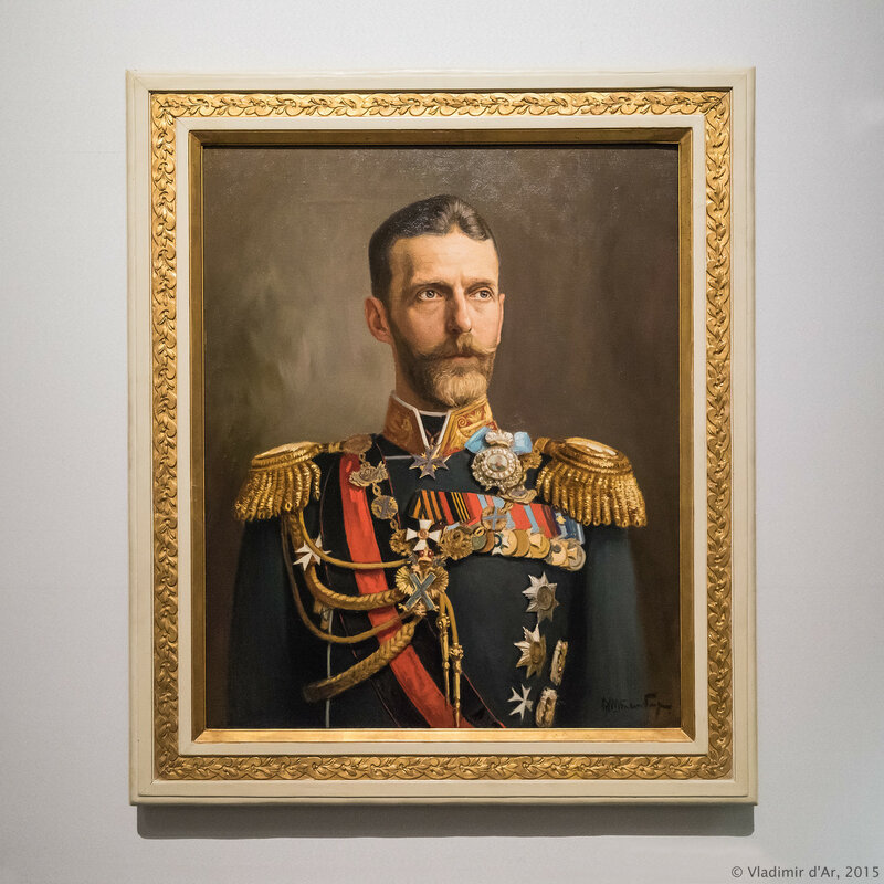 Портрет Великого князя Сергея Александровича. Штемберг В.К. 1881 г.