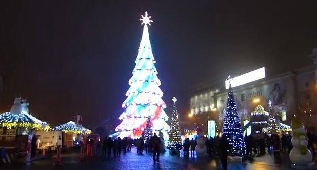 Самая красивая елка Украины