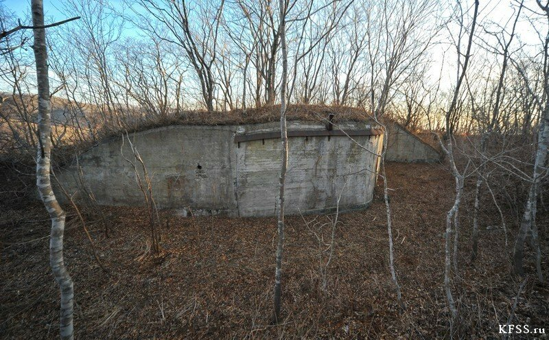 Форт №1 Владивостокской крепости, расположенный близ Горностая