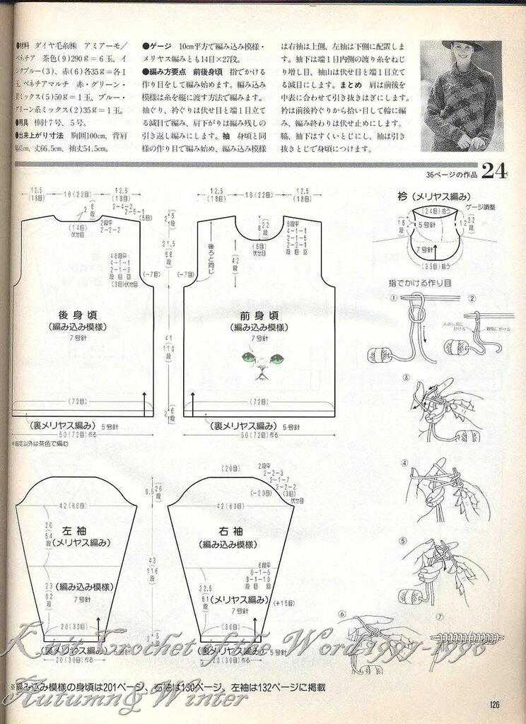 世界の編物LETS KNIT SERIES97/98秋冬特大號 - 壹一 - 壹一的博客