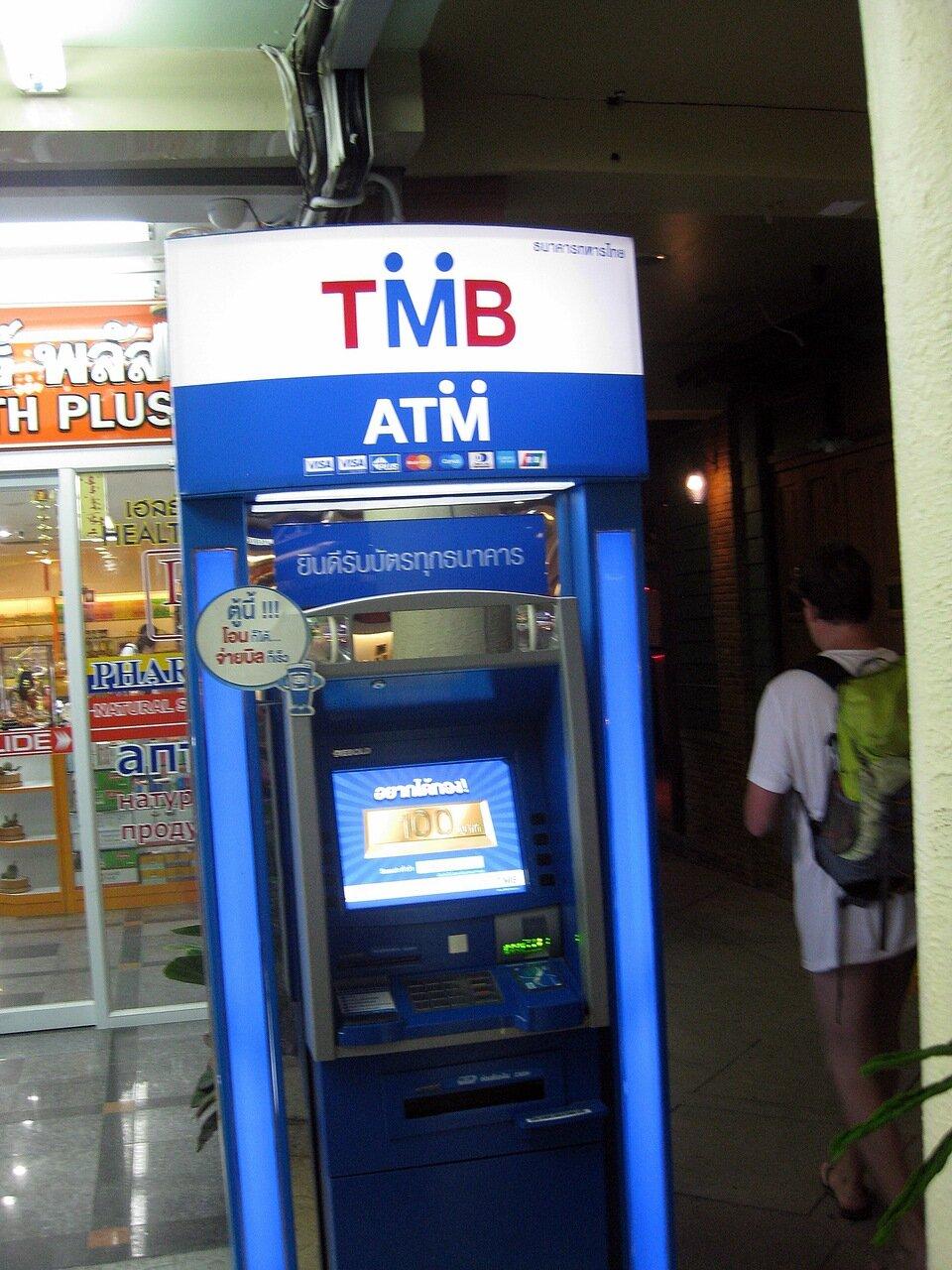 Тайский банкомат - владелец фото http://www.netzim.ru/