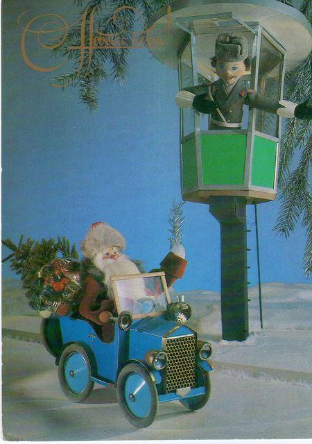 Освободить дорогу Деду Морозу. С Новым годом! открытки фото рисунки картинки поздравления