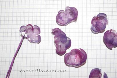 Староанглийская роза из ткани, мастер-класс