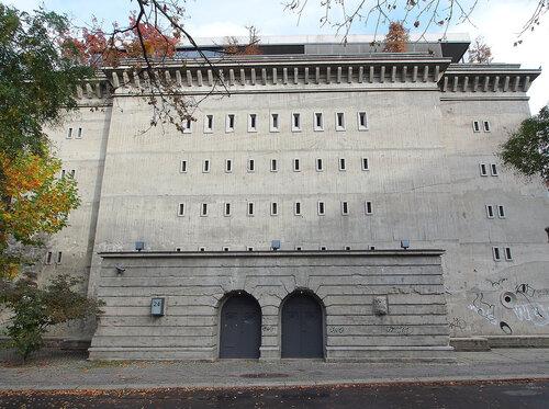 Нацистский бункер в районе Mitte