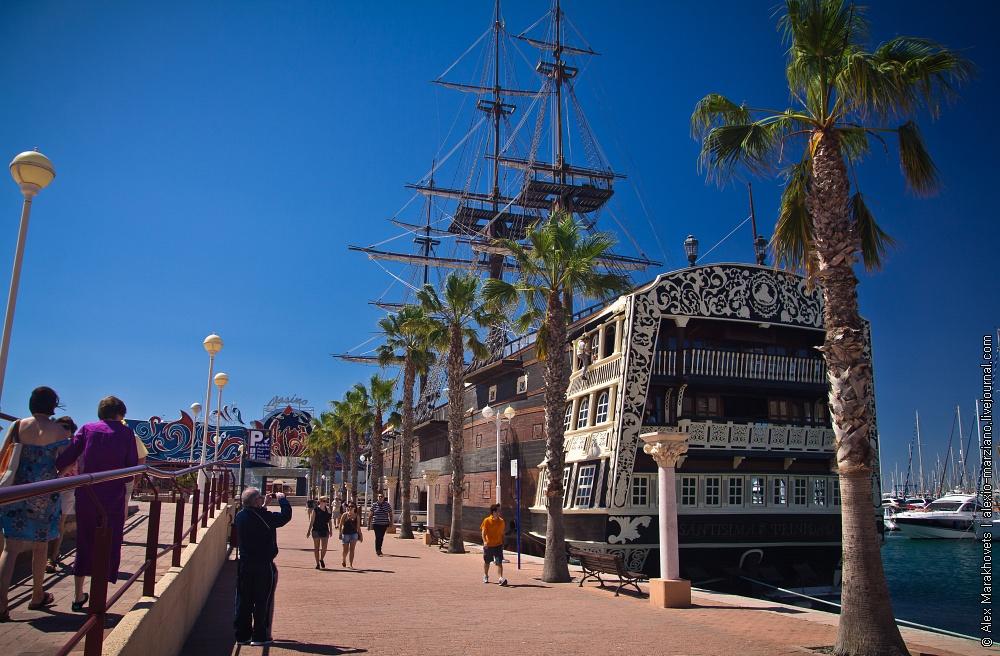 Испания аликанте санта барбара город