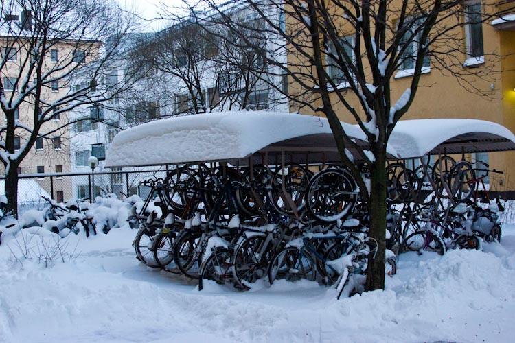 Велосипеды. Студенческий Хельсинки