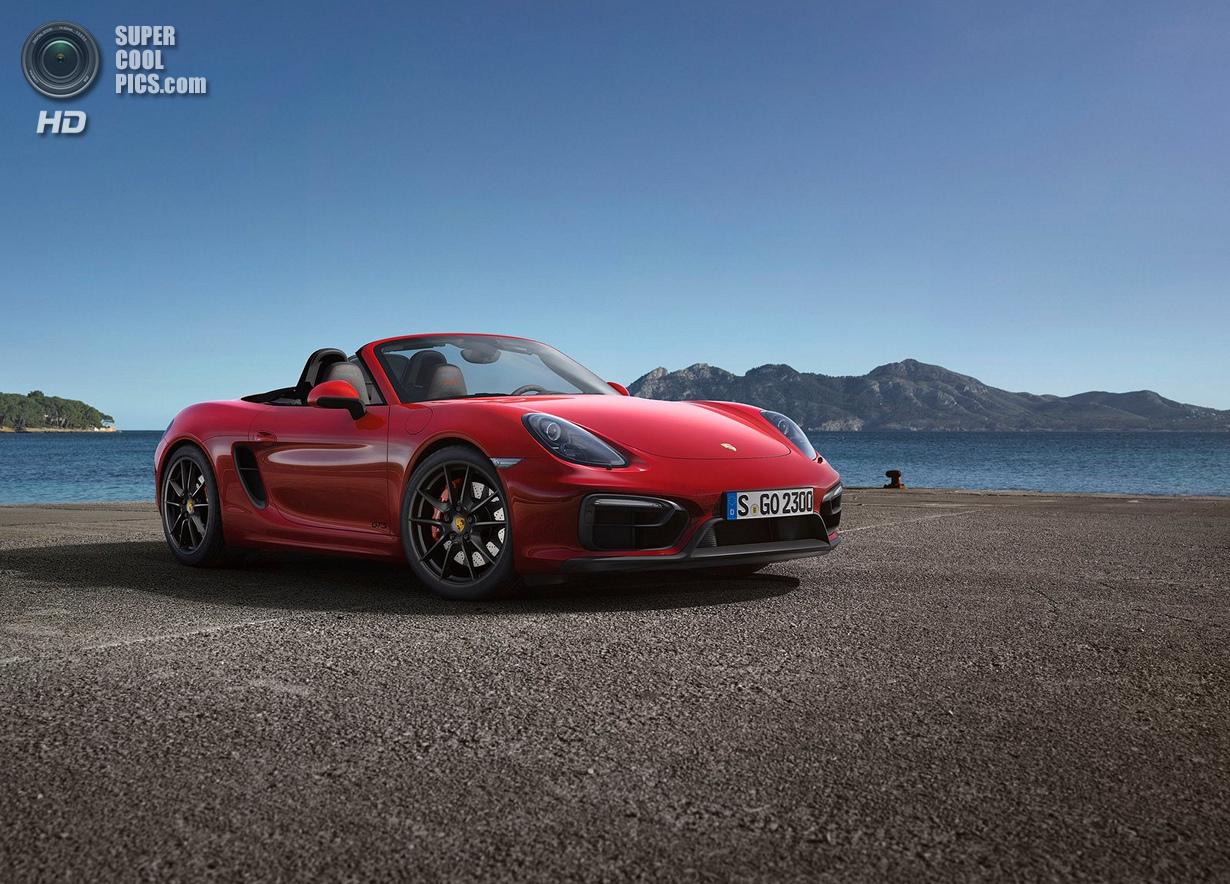 Boxster и Cayman: Двойной удар от Porsche (12 фото)