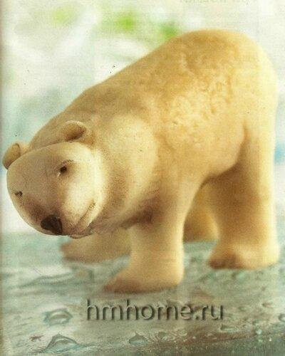 Сахарная фигурка – полярный мишка