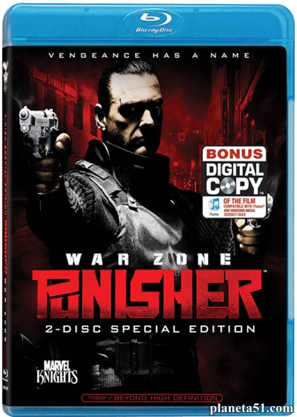 Каратель: Территория войны / Punisher: War Zone (2008/HDRip)