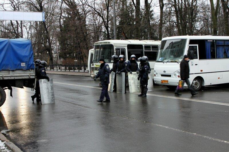 Спецназ на Грушевского