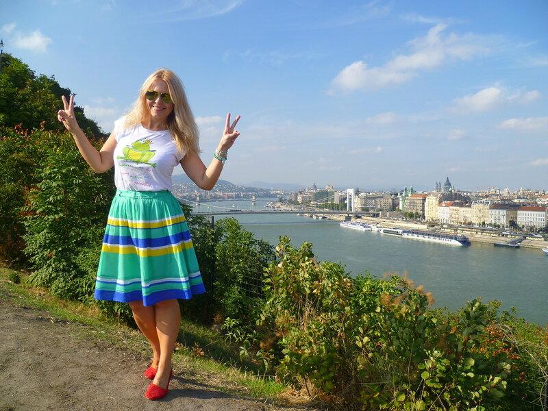 Будапешт. Холм Геллерта.
