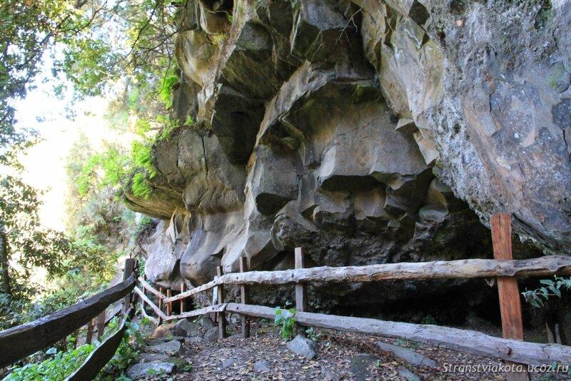 Ла Пальма, петроглифы в La Zarza