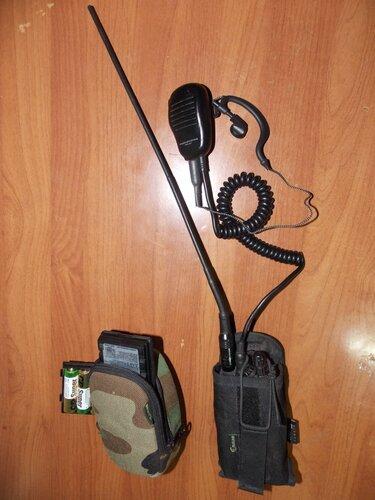 Лёгкий комплект радиостанции для походов