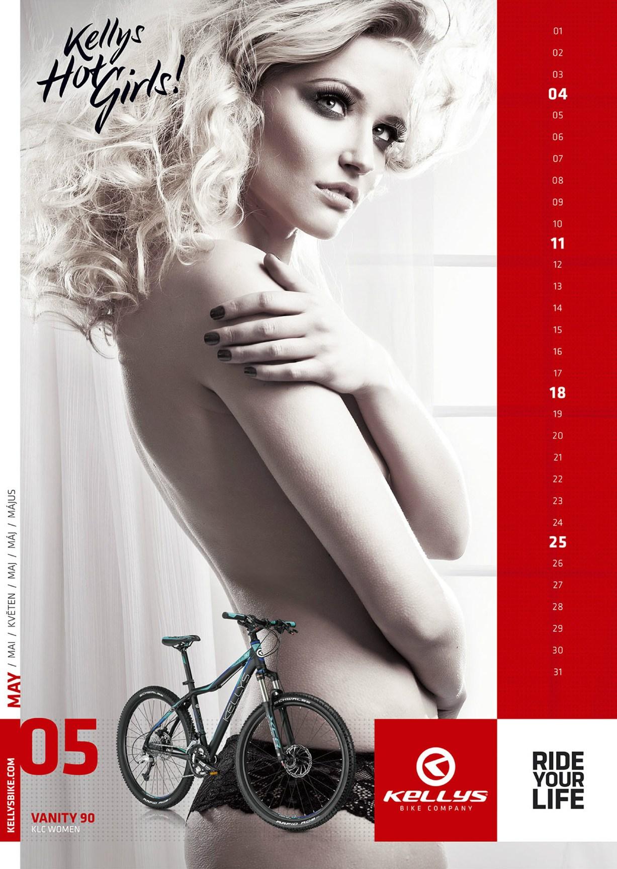 12 горячих красоток в календаре Kellys Hot Girls 2014