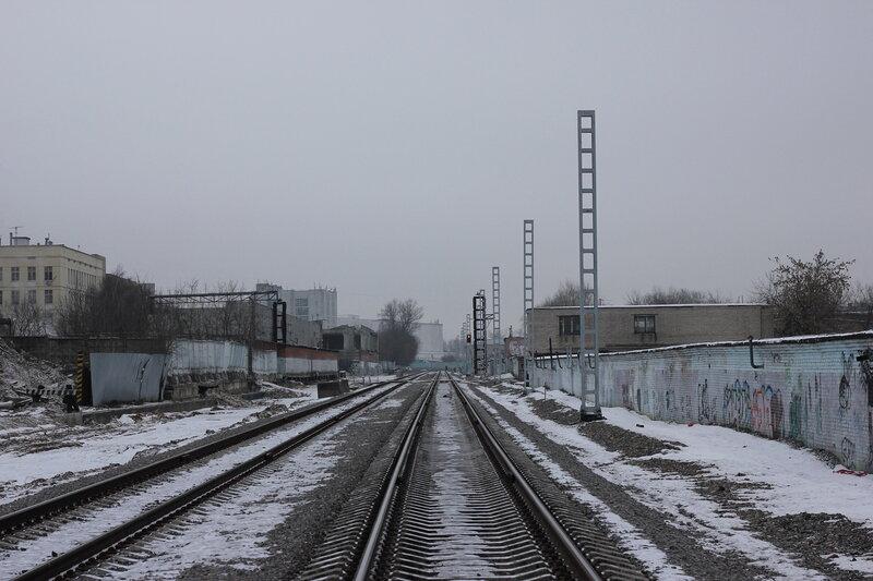 Перегон Белокаменная - Черкизово