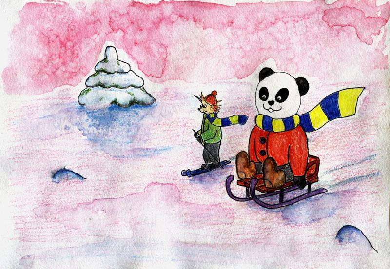 Панда и Ёжик