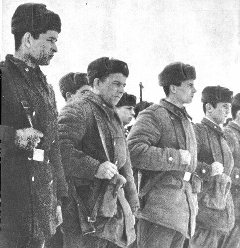 Советские солдаты на Даманском