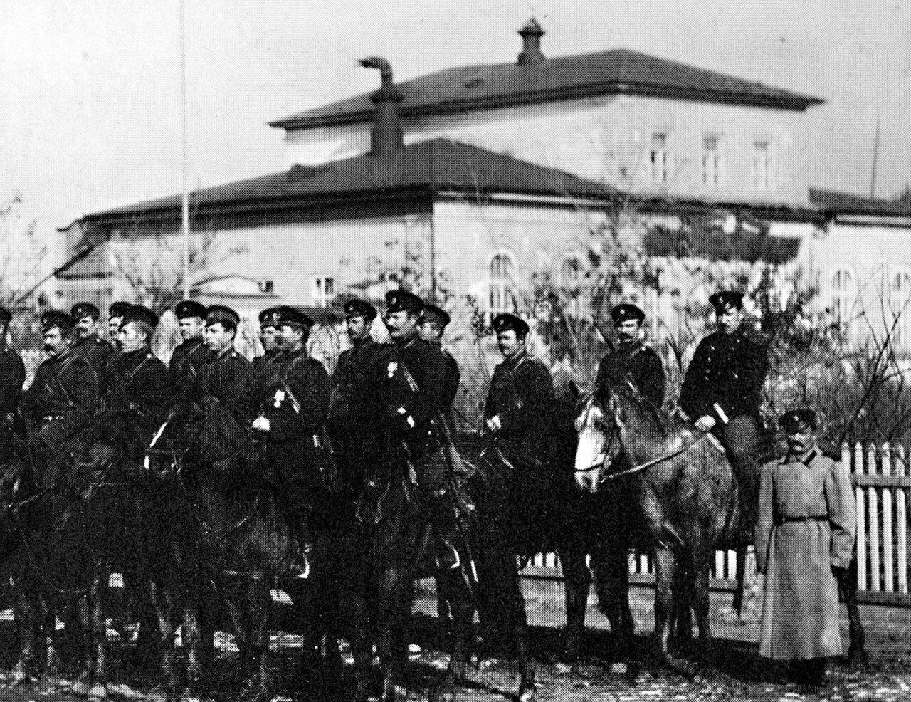 Управа саратовской конно-полицейской казачьей команды