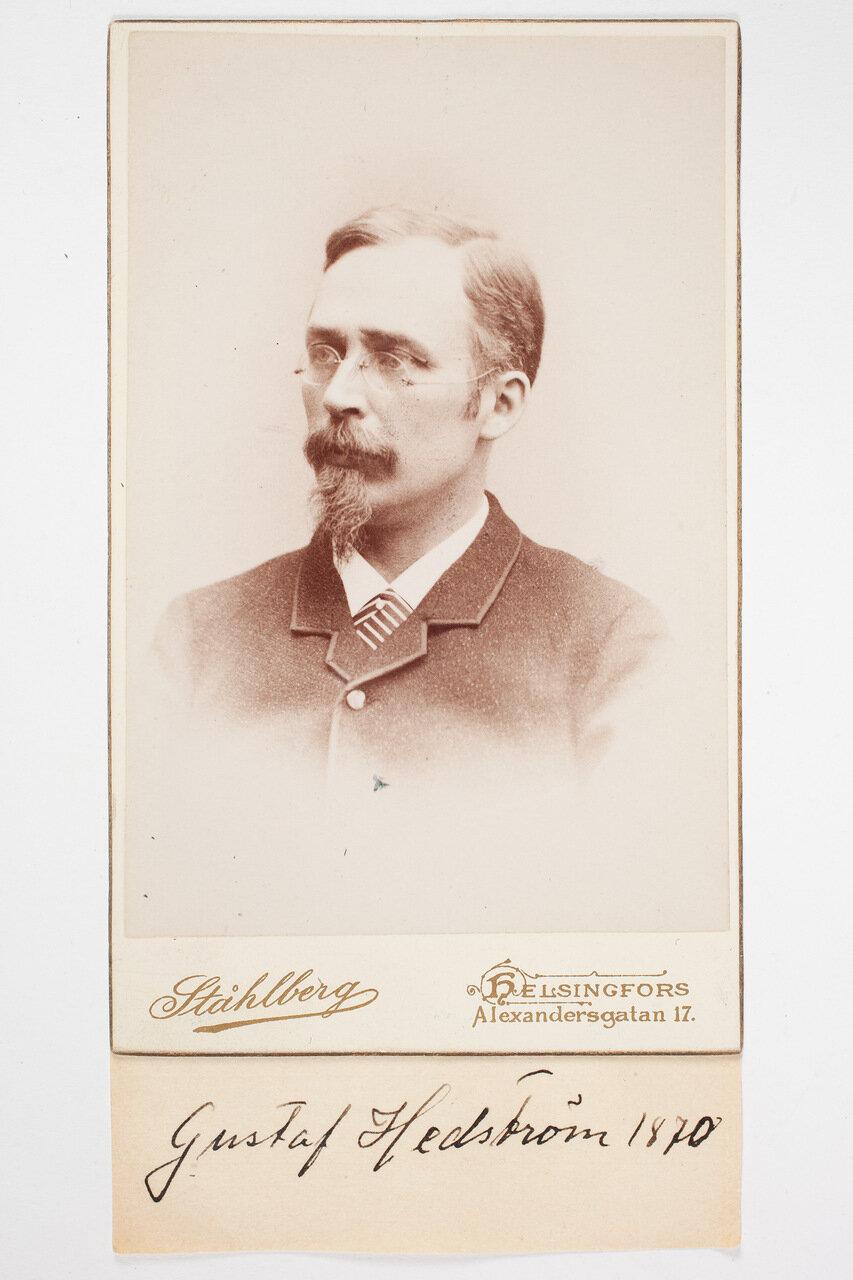 Густав Хедерстрём. 1870