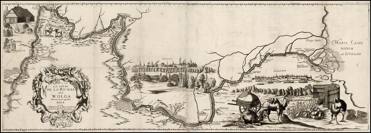 1659. Река Волга