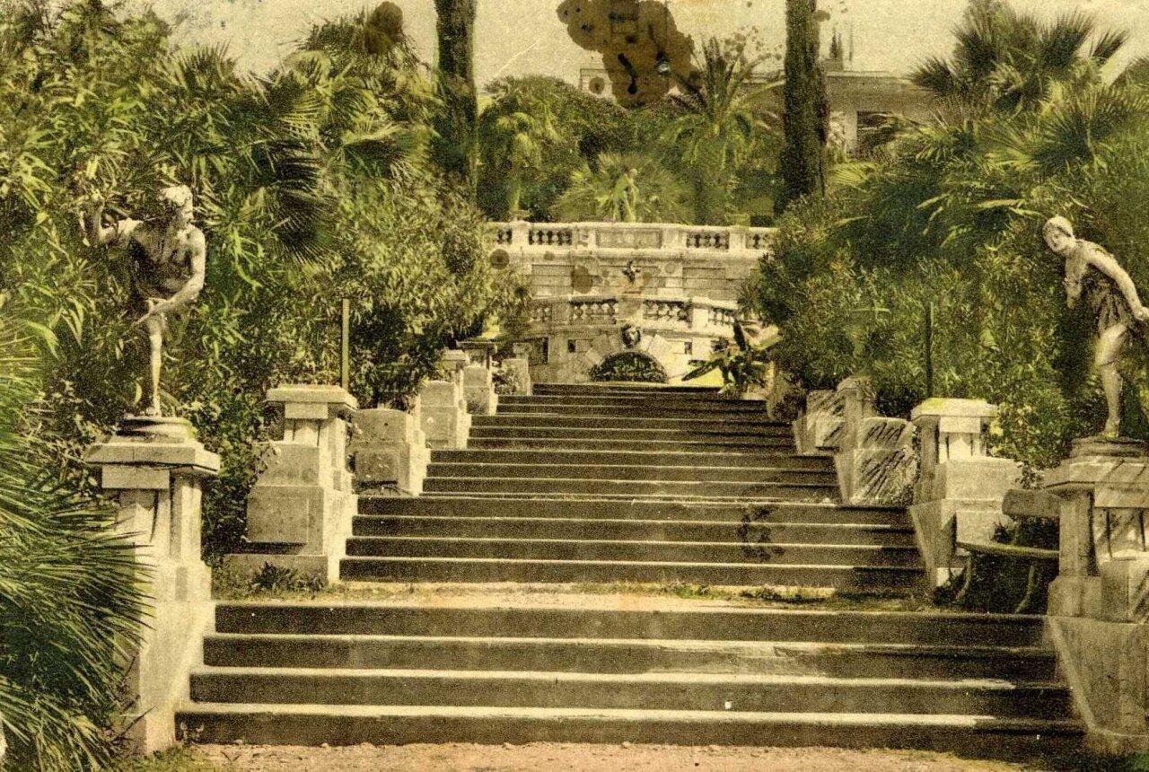Лестница в парке Сельскохозяйственной опытной станции