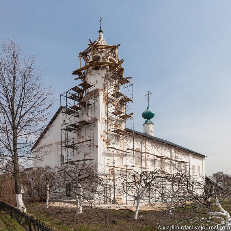 Зачатьевская трапезная церковь Свято-Покровского монастыря в Суздале