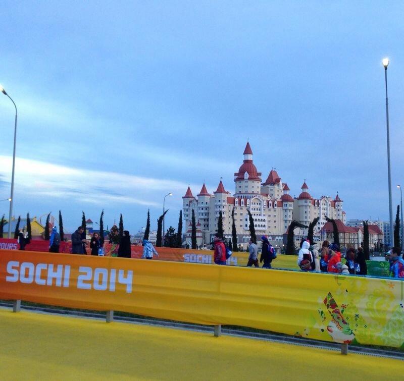 Олимпиада, Сочи, вечер, Отель для VIP