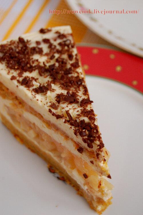 торт с айвой