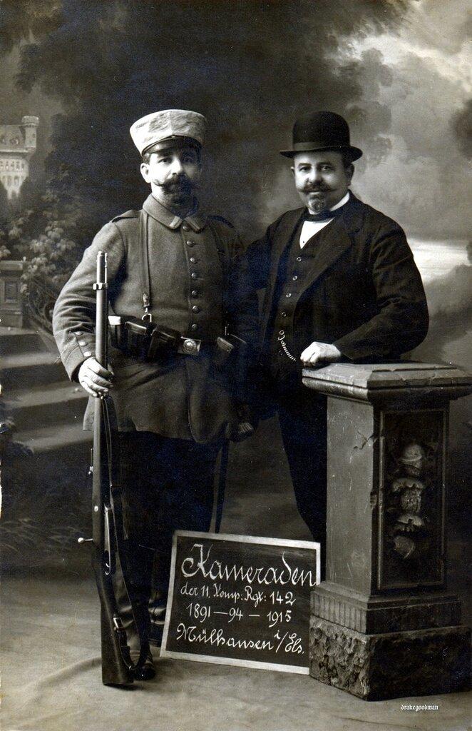 Kameraden 1891 - 94 - 1915, Mulhausen