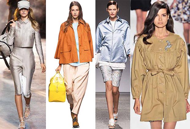 Пять актуальных трендов в женской одежде сезона весна-лето 2014