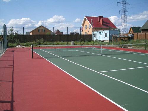 Строим теннисный корт с компанией «LLENTAB»