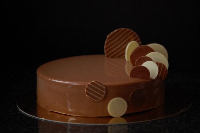 молочный шоколад пралине