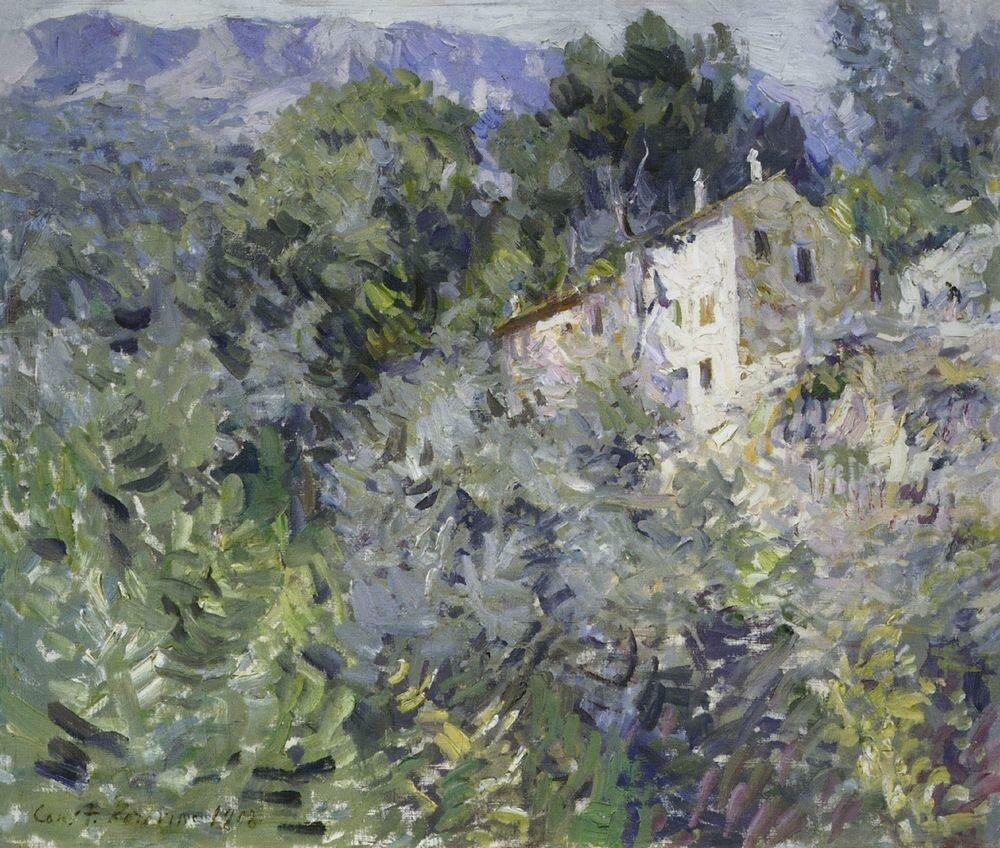 На юге Франции. 1908.jpg