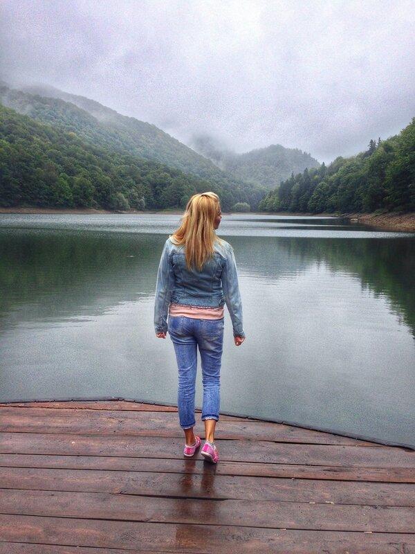 Биоградское озеро в сентябре