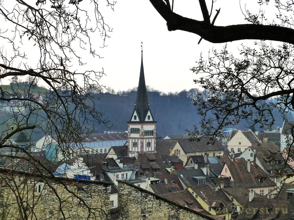 Бенедиктинский монастырь всех святых (Kloster Allerheiligen), Шаффхаузен, Швейцария