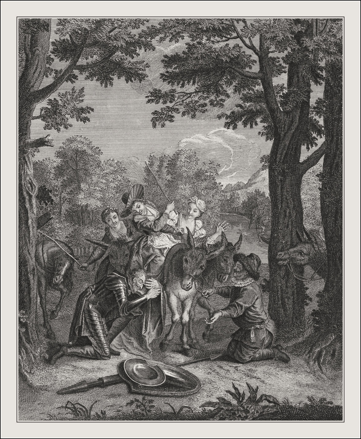 Les Principales avantures de l'admirable Don Quichotte
