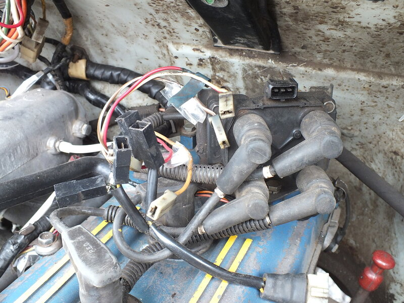 Схема подключения высоковольтных проводов на змз 405 191