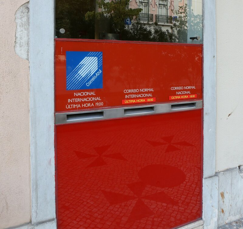 Correio Azul mailbox