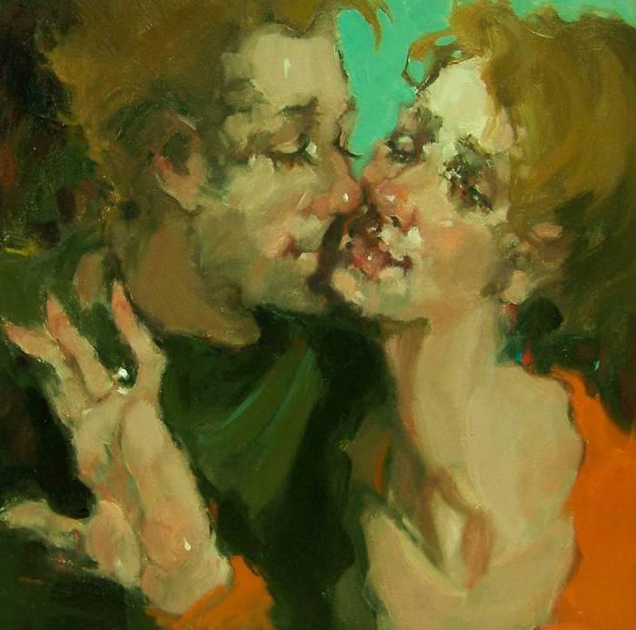 Любовь, вино и немножко котиков. 40 влюблённых пар от Ким Роберти / Kim Roberti