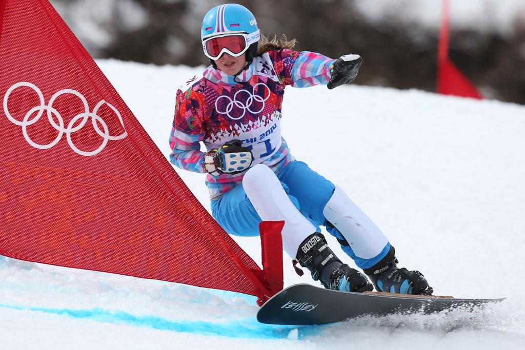 Российские сноубордисты выиграли золото и бронзу, Сочи, 19 февраля 2014 года
