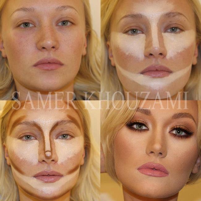 Как сделать контурирование лица поэтапно