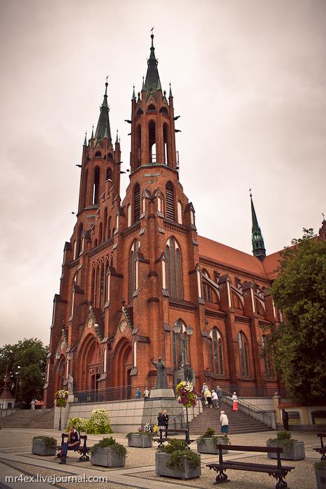 Белосток, Польша, Białystok, Старый город Белостока, Кафедральный Собор