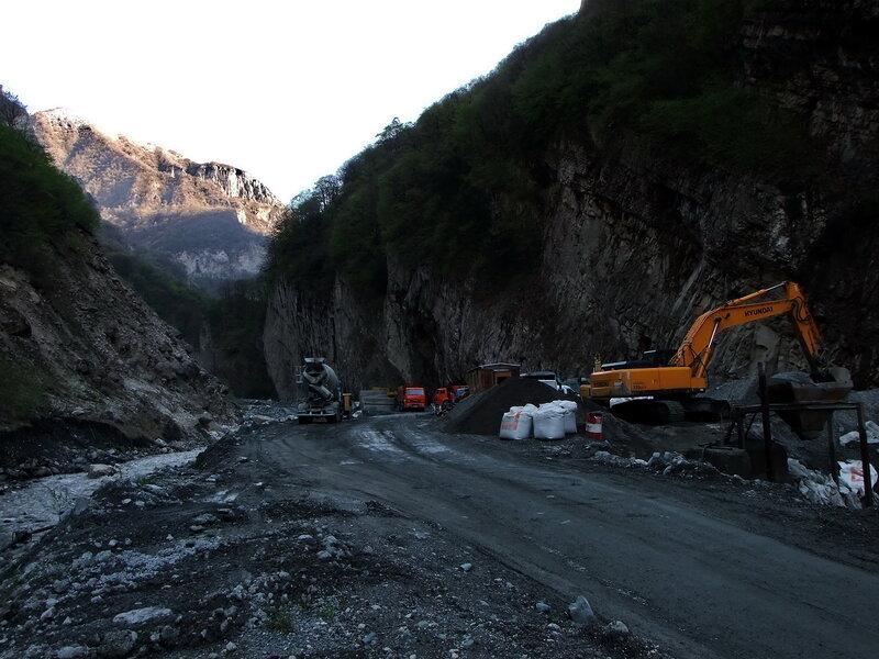 Восстановление дороги