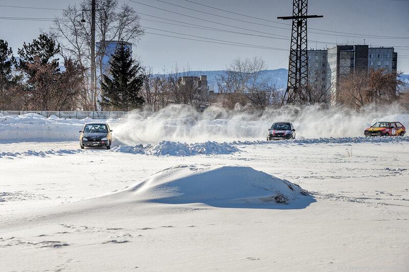 Трековые гонки Красноярск 22 февраля 2014