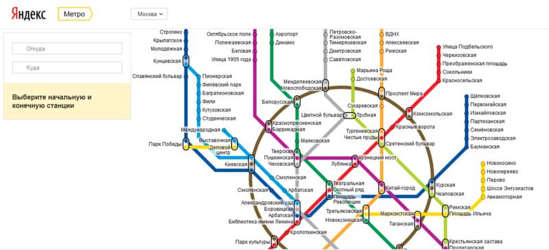 схемы метрополитена пяти