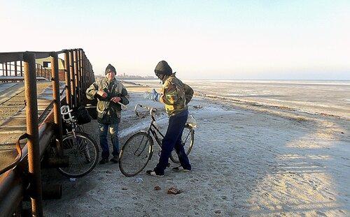 Велосипед и февраль...