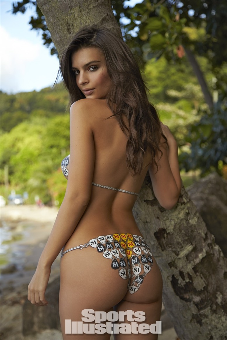 Emily Ratajkowski / Эмили Ратажковски бодиарт - Sports Illustrated Swimsuit 2014 body paint