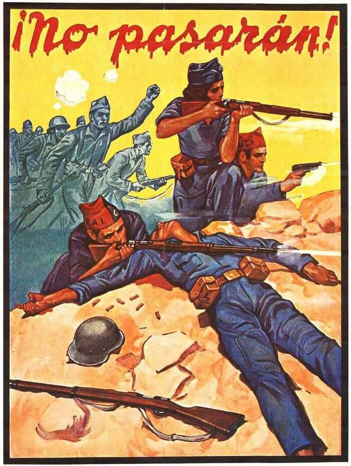Война в испании часть 1 плакаты 1936 37