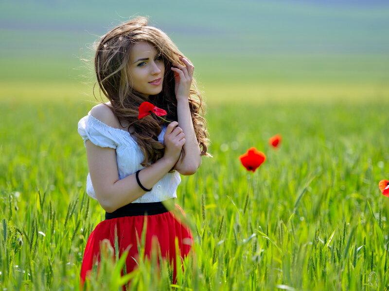 Маки. Катя-Катерина, маков цвет